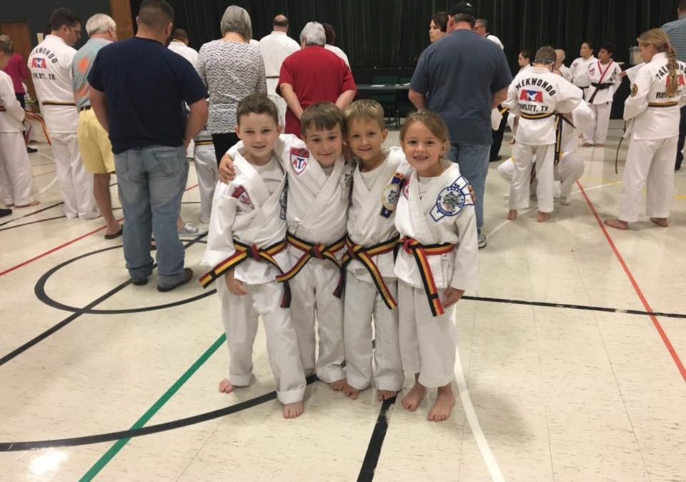 White through Red Belt Testing – June 2017